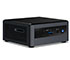"Intel NUC10i3FNH (Intel Core i3-10110U up to 4,10GHz,  1x HDMI, 5x USB 3.1, Thunderbolt, <b>2,5"" SATA SSD</b> Support)"